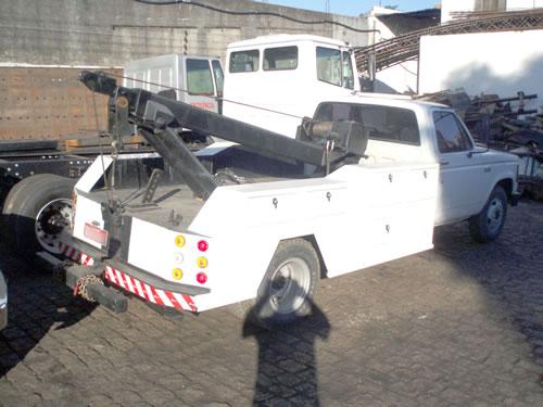 Rebocador Hidráulico Pequeno para Ônibus e Caminhão – R-02